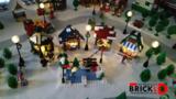 BrickLED 2 x Kerst Lantaarn - Kaars_