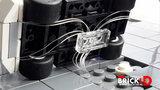 BrickLED 3 x Micro lampje - Wit warm - Verlichting voor LEGO_