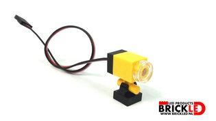 Geel Mini bouw lamp