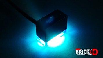 BrickLED 2 x Medium spot - Blauw