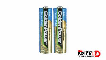 2 x AA Batterij