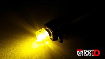 BrickLED 2 x Mini spot - Geel - Verlichting voor LEGO