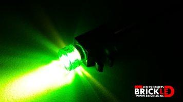BrickLED 2 x Mini spot - Groen - Verlichting voor LEGO