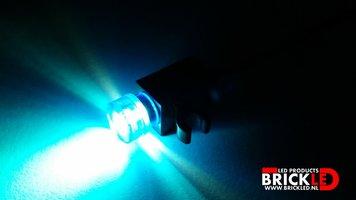 BrickLED 2 x Mini spot - Blauw - Verlichting voor LEGO