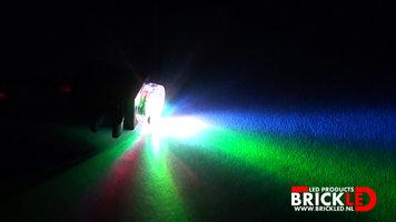BrickLED 2 x Mini spot - Disco - Verlichting voor LEGO