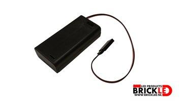 BrickLED 1 x AA Batterij blok - Verlichting voor LEGO