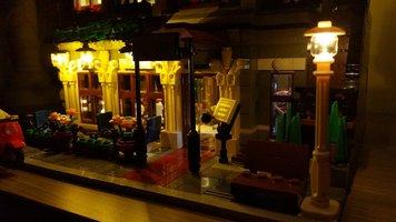 Paris Restaurant 10243 Verlichting set