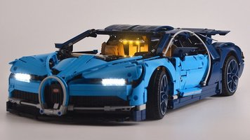 Bugatti Chiron 42083 Verlichting set