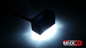 BrickLED 3 x Standaard lampje - Wit koud - Verlichting voor LEGO