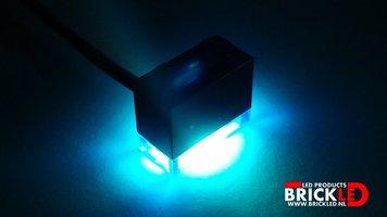 BrickLED 3 x Standaard lampje - Blauw - Verlichting voor LEGO