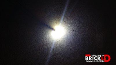 BrickLED 3 x Micro lampje - Wit koud - Verlichting voor LEGO