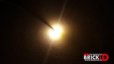 BrickLED 3 x Micro lampje - Wit warm - Verlichting voor LEGO
