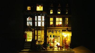 Pet Shop 10218 Verlichting set