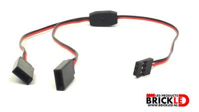 BrickLED 5 x Splits snoer 15cm