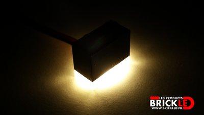 BrickLED 3 x Standaard lampje - Wit warm