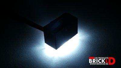 BrickLED 3 x Standaard lampje - Wit koud